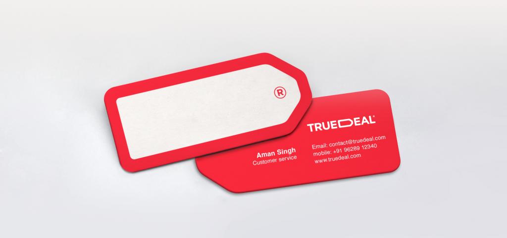 TRUEDEAL brand identity Copy