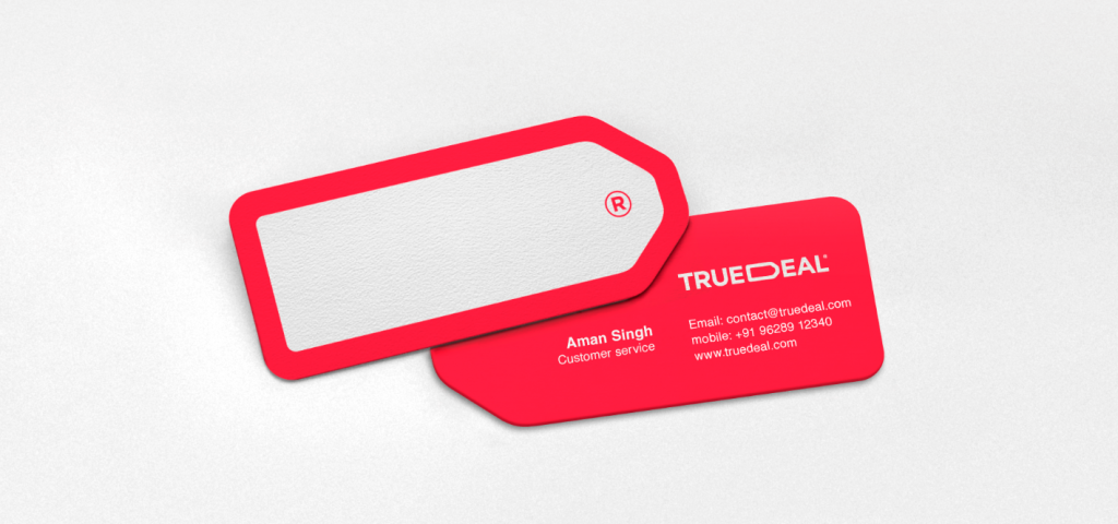 TRUEDEAL brand identity